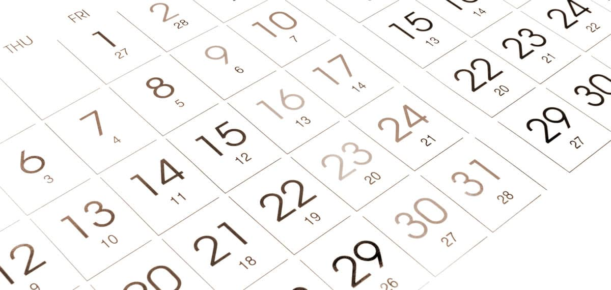 Calendar Förster-Technik
