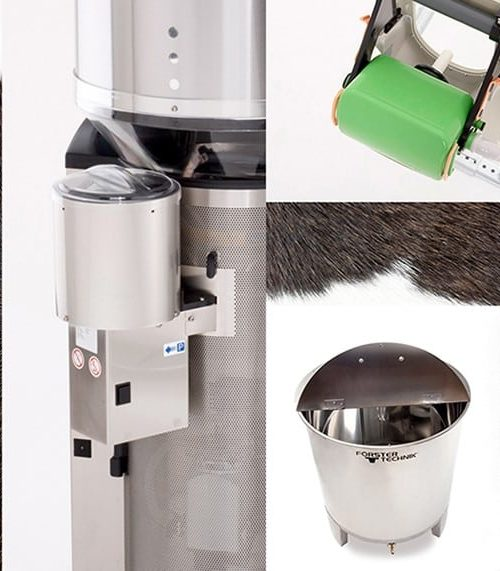 Accessories for the calf feeder
