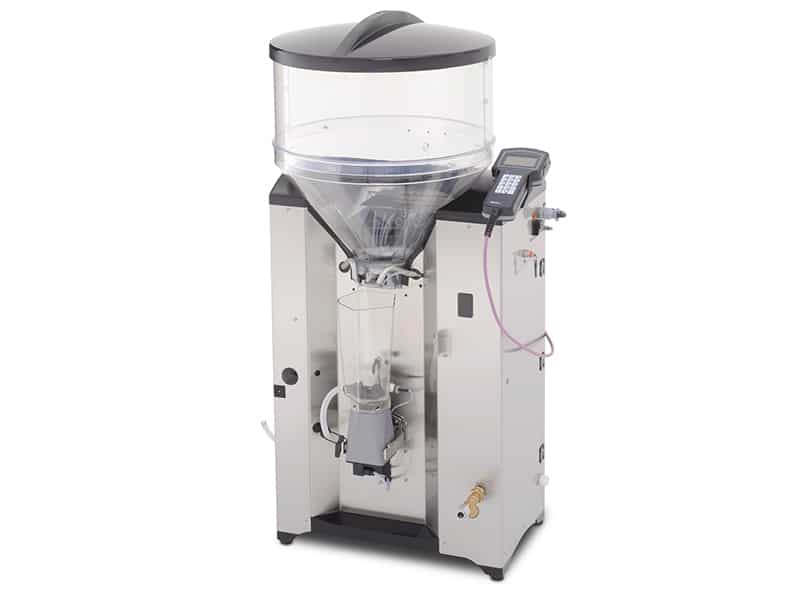 Automatic feeder with mixer