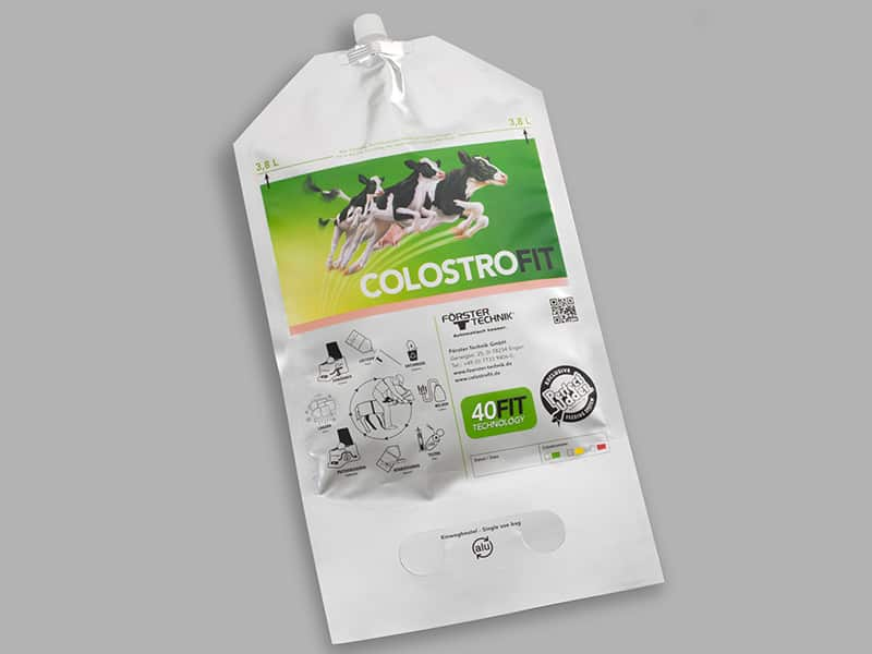 fill your colostrum in a ColostroBAG