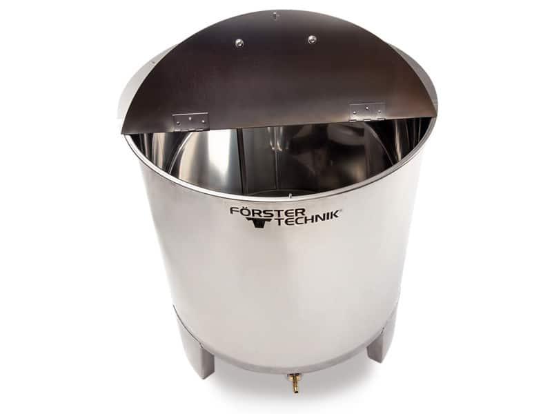 stell milk tank