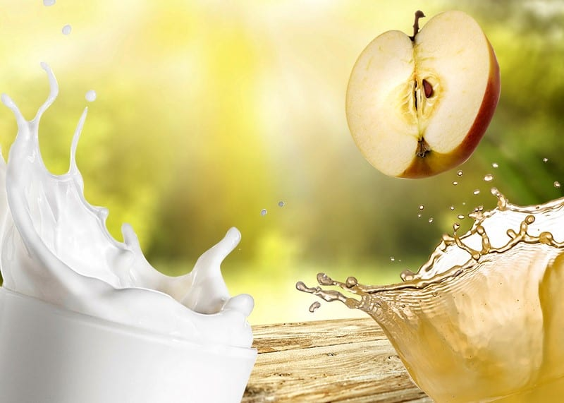 Pasteurizing milk and juice